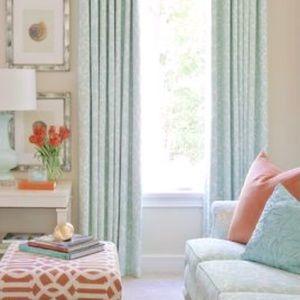 4 NEW curtains Martha Stewart Living